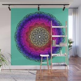 Mandala colors Wall Mural