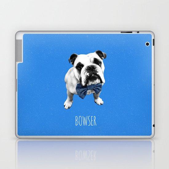 Blue Bowser Laptop & iPad Skin
