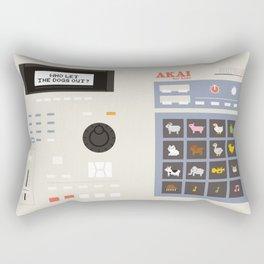 Akai mpc for kids Rectangular Pillow