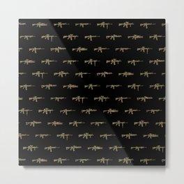 AR15 Pattern Metal Print