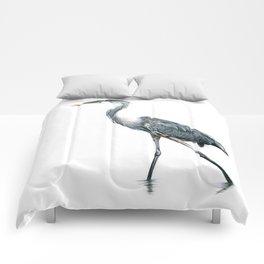 Blue Heron Comforters