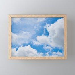 Partly Cloudy Framed Mini Art Print