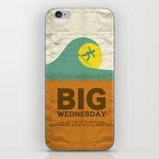 Big Wednesday iPhone & iPod Skin