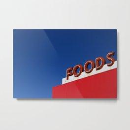Foods Metal Print