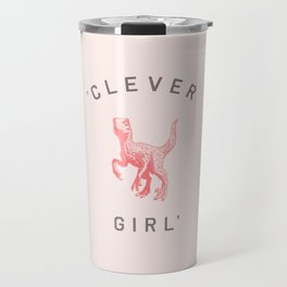 Clever Girl Travel Mug