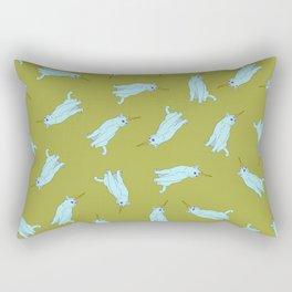 Uni Cat - Baby Blue Rectangular Pillow