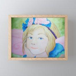 Bluebell Framed Mini Art Print