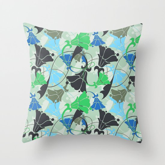Nouveau Nouveau Throw Pillow