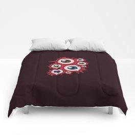 Bloody eyeballs Comforters