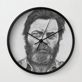 Nick Offerman Wall Clock