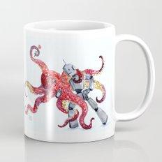 Robot Octopus Tango Date Mug