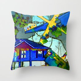 House Throw Pillow
