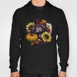 Harvest D20 - Autumn Tabletop Gaming Dice Hoody