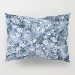 Winter Pine Forest Pillow Sham