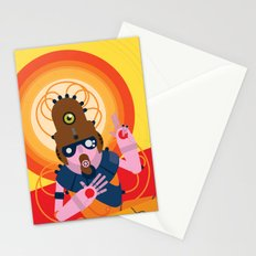The inscrutable Lord ov Data Stationery Cards