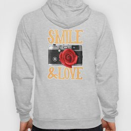 Smile and Love Hoody