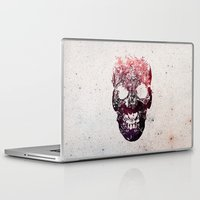 skull Laptop & iPad Skins featuring SKULL by Ali GULEC