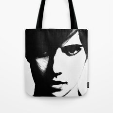 Slender Face Tote Bag