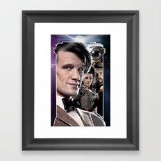 Doctor Who -11th Doctor Framed Art Print