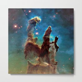 Eagle Nebula's Pillars Metal Print
