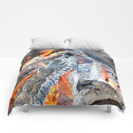 fire, ember and ash Comforters