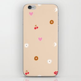 Woman Pattern iPhone Skin