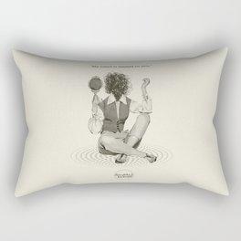 Wasted Heart Rectangular Pillow