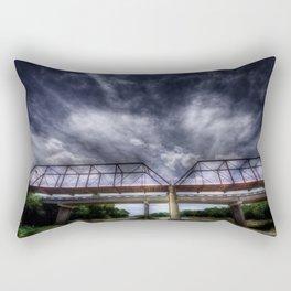 The Brazos Point Bridge Rectangular Pillow