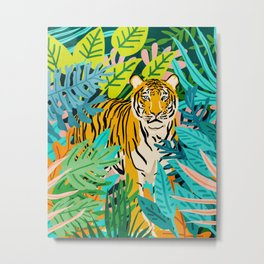 Only 3890 Left. #painting #wildlife Metal Print
