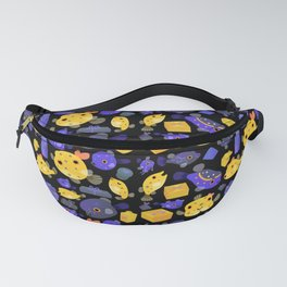 Boxfish - black Fanny Pack