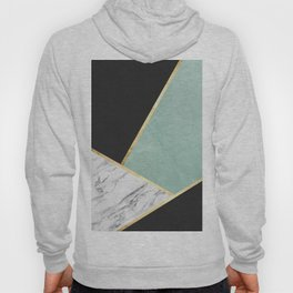 Art with marble V Hoody