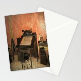 Antique Nautical Desk Stationery Cards