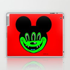 MICKEYES. (Lime Buck-Tooth). Laptop & iPad Skin
