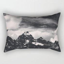 Tetonic Nights Rectangular Pillow