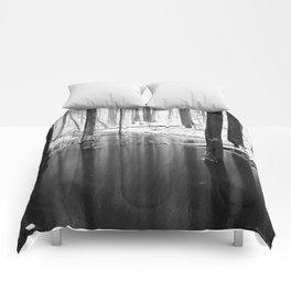 Snow exposure Comforters