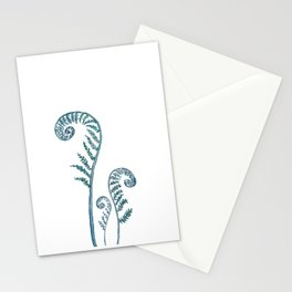 fern painting 2017 Stationery Cards