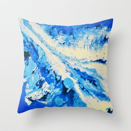 Icy North Throw Pillow