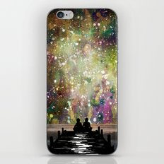 The Universe Was Ours iPhone & iPod Skin