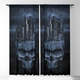 Dark city Blackout Curtain
