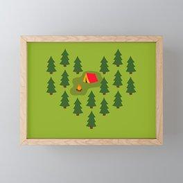 Camping Love Framed Mini Art Print