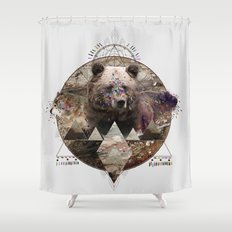 ANIMAL ECHOES Shower Curtain