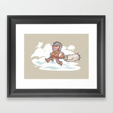 Good Luck Charm! Framed Art Print