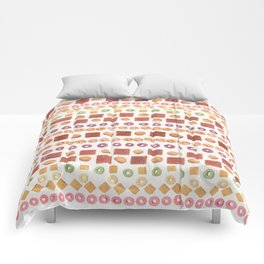 Cereal Surreal Poster Print Comforters