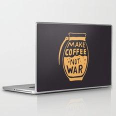 Make Coffee Not War Laptop & iPad Skin