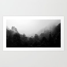 Big Sur Fog Art Print