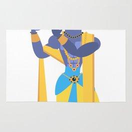 lord Vishnu Krishna Rug
