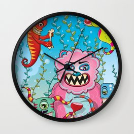 Flesh and Teeth's Wall Clock
