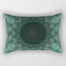 N-dimension projection # 2 (mandala) Rectangular Pillow