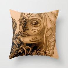 Danger Throw Pillow