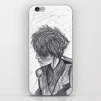 ben giles iPhone & iPod Skins featuring Ben by Vidility